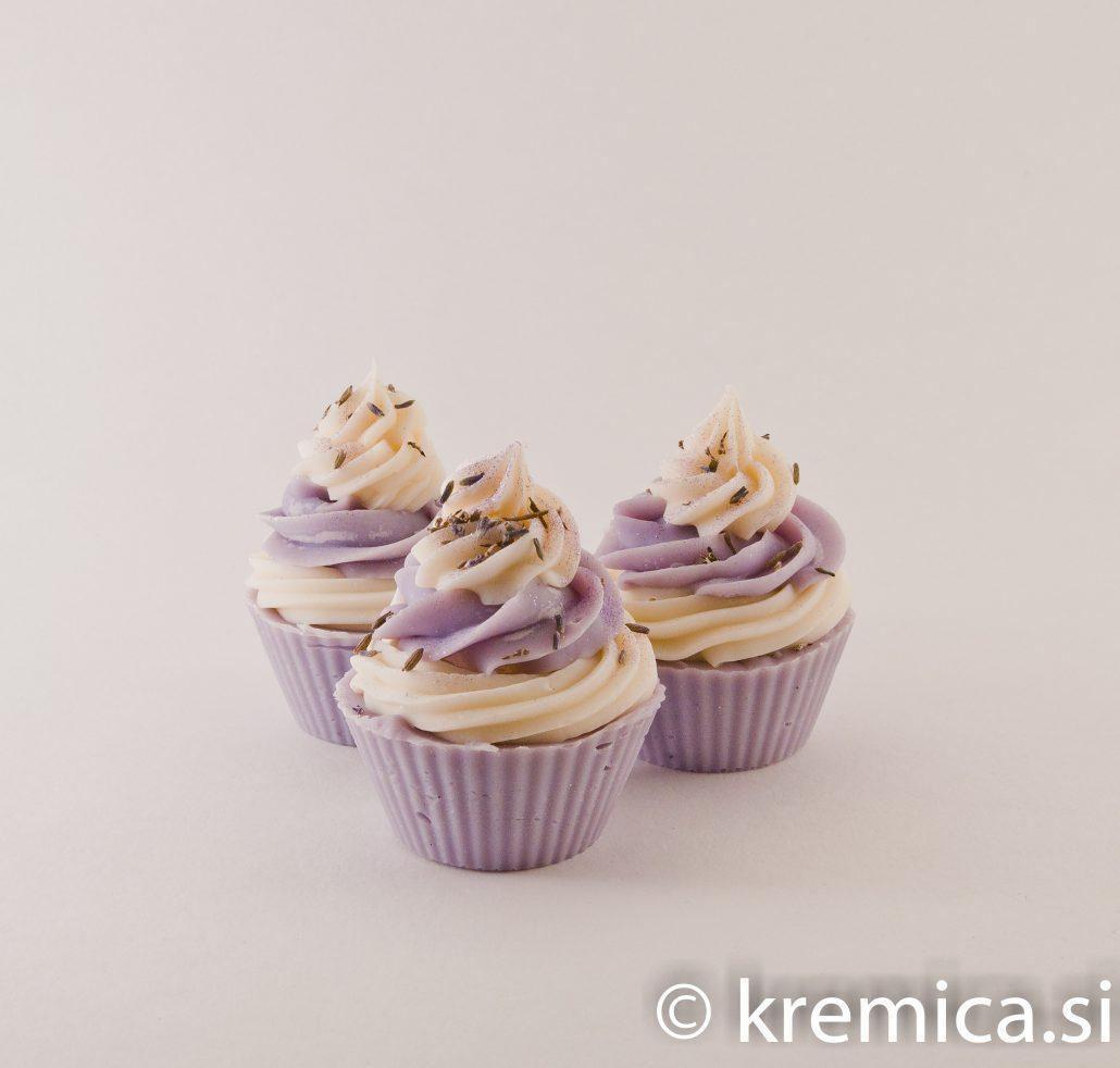 Cupcake sivka