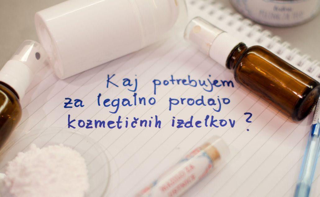 Legalna prodaja kozmetičnih izdelkov