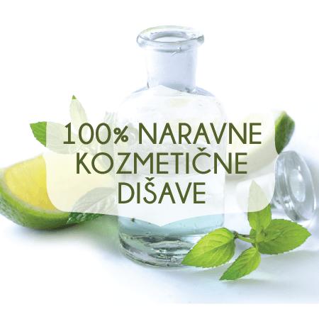 100% naravne kozmetične dišave